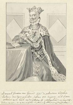 Anonymous | Portret van Lamoraal, graaf van Egmond, geknield, Anonymous, 1782 | Portret van Lamoraal (1522-1568), graaf van Egmond, geknield in wapenrusting met mantel en kroon, naar links.