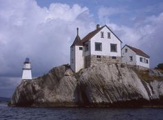 Rivingen lighthouse [1925 - Grimstad, Norway]