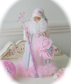 I gave me white santa a pink - over :)