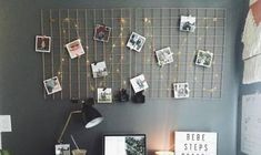 25 Ideas To Use String Lights In Home Offices