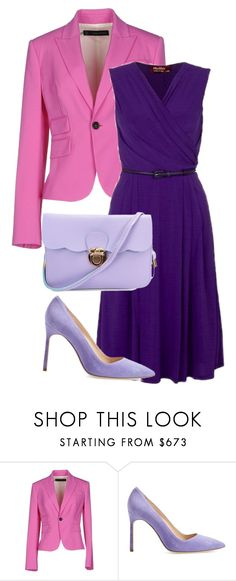 """""""Untitled 1"""" by havlova-blanka on Polyvore featuring Dsquared2 and Manolo Blahnik"""