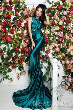 c413cc6b593 АРЕНДА- Платье Платье Трансформер Изумрудное. Цена - 2500 р. за 3 дня