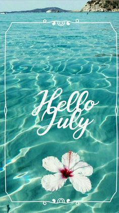 Hello july summer beach Summer Backgrounds, Phone Backgrounds, Wallpaper Backgrounds, Seasons Months, Months In A Year, Wallpaper Iphone Cute, Cute Wallpapers, Summer Cover Photos, New Month Greetings