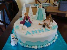Disney Frozen cake idea