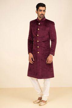 Indian Wedding Suits Men, Sherwani For Men Wedding, Indian Groom Wear, Wedding Dress Men, Indian Wear, Indian Weddings, Wedding Outfits, Kurta Men, Mens Sherwani