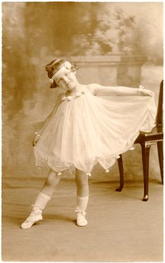 Old Photo Ballerina Child  Singing Lessons Vancouver - Online  Studio Lessons 'PROJECT YOUR VOICE EASILY, CONFIDENTLY, JOYFULLY!' #Singinglessons #Pianolessons www.SungheeStepak.com
