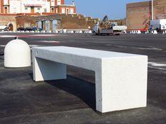 #Ancona #Harbor #Mar #Adriatico #Bellitalia very elegant street furniture solution. #concrete and #marble #urban #design street furniture - arredo urbano - mobiliario urbano - mobilier urbain