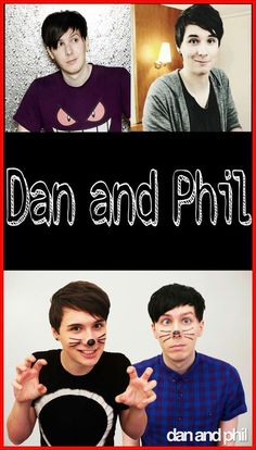 Dan and Phil phone wallpaper.