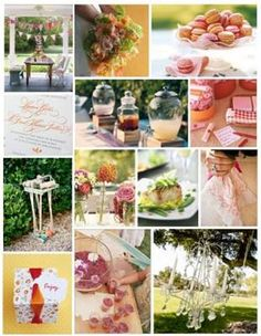 Bridal Shower - Food & Drinks