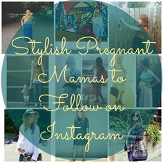 11 Stylish Pregnant Moms to Follow on Instagram and guess who got featured?! This momma :) I'm on page 4 @Shynnz!