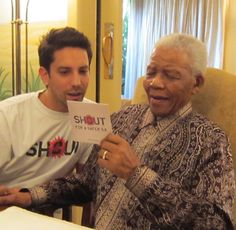 Madiba was so enthralled and praised the musicians who lent their voice to the SHOUT Foundation. Nelson Mandela, Click Photo, Lent, The Voice, Singer, Memories, Inspiration, Musicians, Foundation