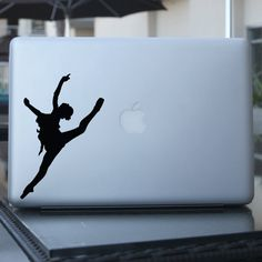 Ballet Dancer Decal - Ballerina Vinyl Sticker -  For Car, Window, Laptop, Wall. $6.95, via Etsy.