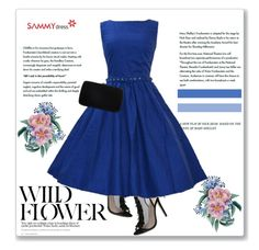 """""""Sammy Dress 50/60"""" by amra-mak ❤ liked on Polyvore featuring Sergio Rossi and sammydress"""