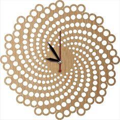 Ceas de Perete din Lemn CPT2614-30 Clock, Wall, Industrial, Home Decor, Watch, Decoration Home, Room Decor, Clocks, Walls