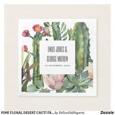 Protea Wedding, Cactus Wedding, Floral Wedding, Rustic Wedding, Wedding Flowers, Autumn Wedding, Pink Wedding Invitations, Wedding Napkins, Wedding Table