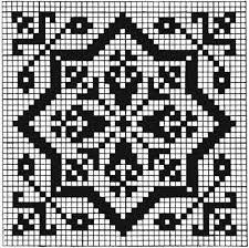 christmas crochet filet - Google Search