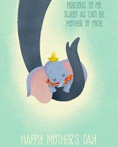 To all the Moms today. #mothersday2016 #disneymom #dumbo #disney #precious  Follow us on Instagram @disneycrawls
