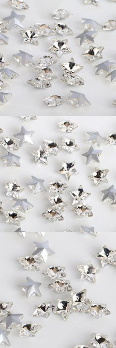 [Visit to Buy] Super shining white five-pointed star Pointed bottom glass crystal rhinestones DIY Watch and dress jewelry accessories 20pcs #Advertisement