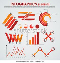 stock-vector-creative-infographics-elements-set-to-presents-business-data-and-growth-statistics-on-grey-269852198.jpg (450×470)