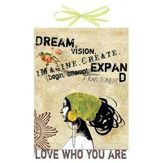 Papaya Art - Dream Art Panel Poster Print - Girls Vintage Inspired Wall Art