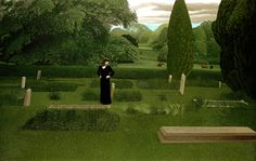 All Our Days Were a Joy, David Inshaw   I've always loved this painting, ever since I saw it in Bristol Museum on a school trip.