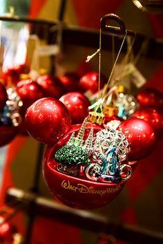 Disney World Ornament by Ladybug Lounge, via Flickr