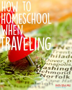 After about 8 years of traveling up to 12 weeks during the year, here are some tips and ideas I have discovered for how to homeschool when traveling.
