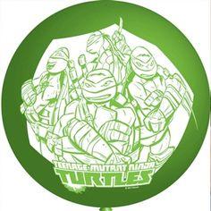 Teenage Mutant Ninja Turtles 4 Punchball Balloons