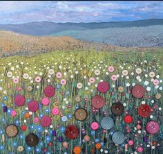 Button meadow by Jo Grundy