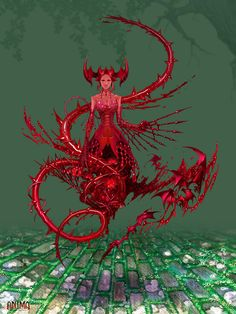 Anima: Blood Elemental by Wen-M on DeviantArt Fantasy Creatures, Mythical Creatures, Dark Fantasy, Fantasy Art, Vampires, Character Concept, Concept Art, Final Fantasy Characters, Fantasy Races