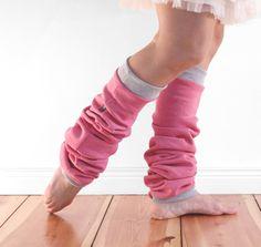 Slouchy dancer leg warmers ballet leg warmers cosy by jaffic