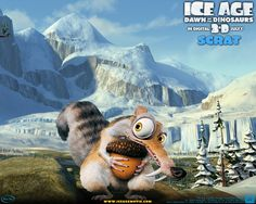 Sparrow Thomas - Widescreen ice age dawn of the dinosaurs backround - 1280x1024 px