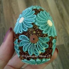 Quillspiration - Amazing 3D Paper Quilled Eggs - Honey's Quilling