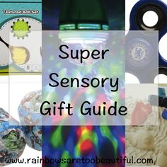 Our top sensory gift ideas for kids whether they have autism and ADHD or not!