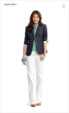 Banana Republic. Love this outfit