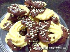 Biscoitos Amanteigados Finos - Culinária-Receitas - Mauro Rebelo