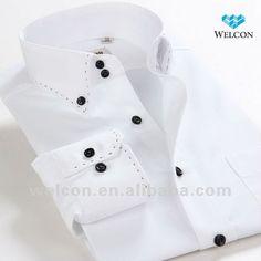 100% cotton stylish Italian style long sleeve latest design fashion brand…