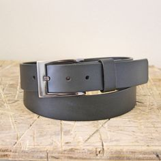 Belt No. 5 leather belt. From the Broundal collection of handmade leather goods designed and produced in Denmark.