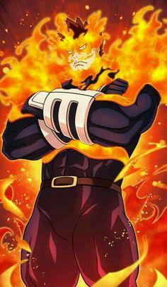 Enji Todoroki / Endeavor (My Hero Academia) My Hero Academia Episodes, Hero Academia Characters, Anime Characters, Boku No Hero Academia, My Hero Academia Manga, Anime Pixel Art, Anime Art, Images Kawaii, Hero Wallpaper