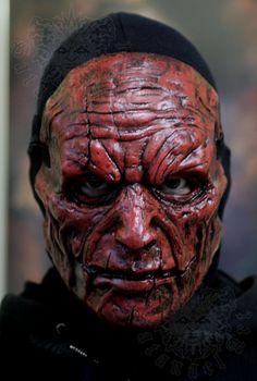 Demon Mask by SatanaelArt on Etsy, $80.00