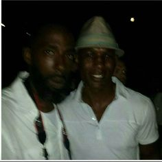 #TBT Me and the Champ Bernard Hopkins at a All white party.