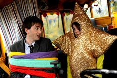 PHOTO OF THE DAY - 20th December 2015:   David Tennant in Nativity 2: Danger In The Manger! (2012)