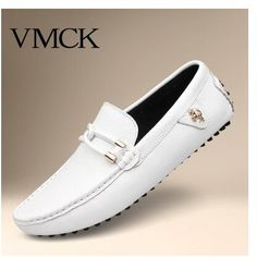 46.00$  Buy now - http://ali7y4.worldwells.pw/go.php?t=32721527345 - ZNPNXN Fashion Flats Shoes Men Loafers Genuine Leather Casual Shoes Men Flats Oxford Shoes For Men Moccasin Driving Shoes Man 46.00$