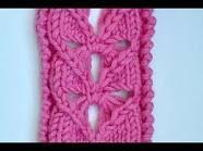Knit Heart Lace Stitch