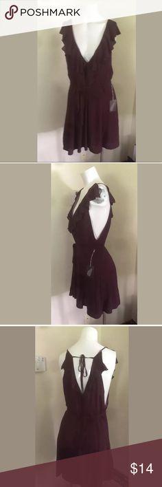 Forever 21 Dark Purple Plum Mauve Dress XL NEW Women's Forever 21 Dark Purple Plum Mauve Dress XL XLarge Forever 21 Dresses Mini