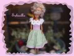 Puppenkleidung - Blumenkleid *** für Barbie - ein Designerstück von Sabisilke bei DaWanda