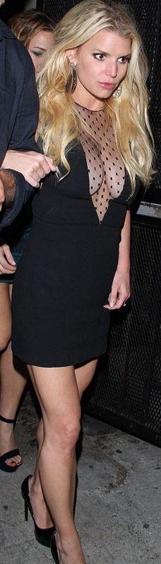 Jessica Simpson's style