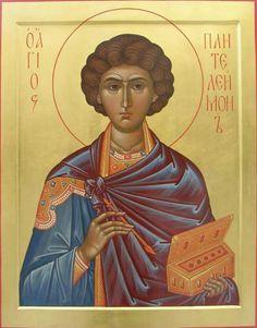 Saint pantelemon the great martyr and healer by zoran zivkovic