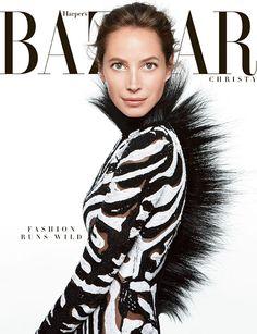 US Harper's Bazaar June / July 2013 : Christy Turlington Photographer: Daniel Jackson Fashion Editor: Julia von Boehm