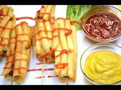 French Fry Covered Corn Dogs - YouTube
